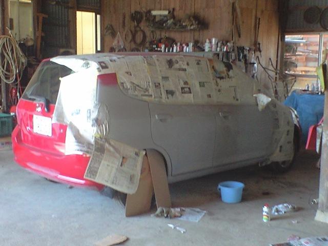 車の全塗装