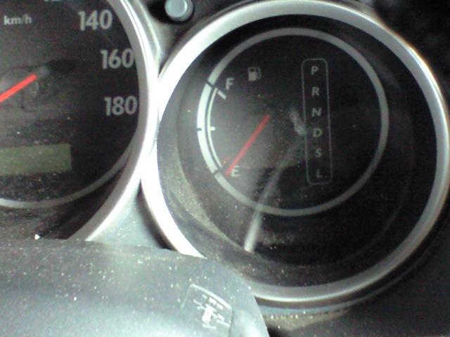 ガソリン不足にさまよう