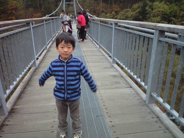 東北一の吊り橋