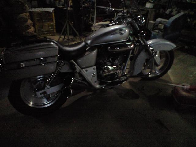 バイク冬準備