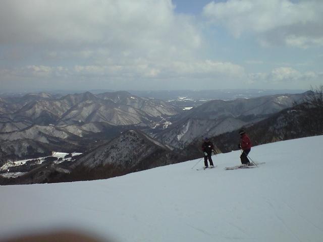 初めてのスキー場