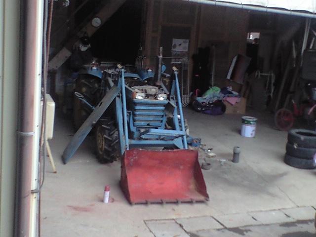 トラクター整備