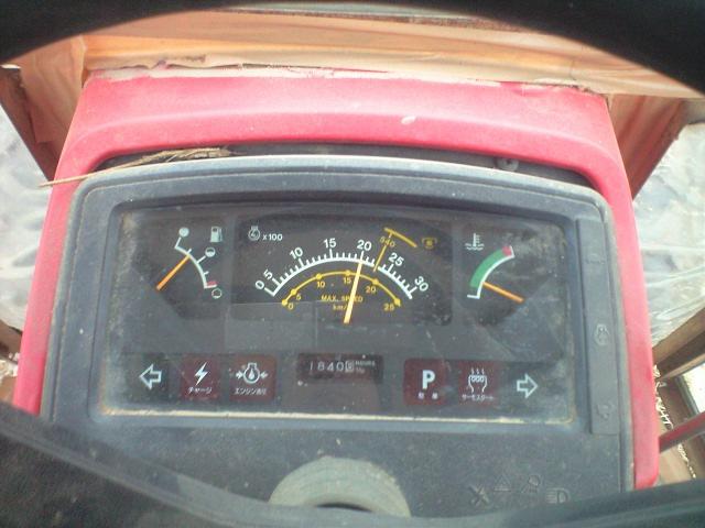 トラクターのメーター