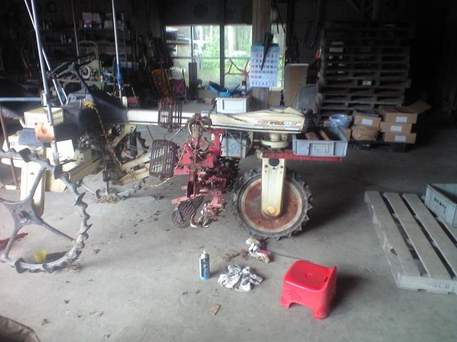 除草機械整備